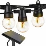 The Best Outdoor String Lights Option: Brightech Ambience Pro - Waterproof Solar LED Lights