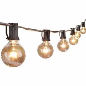 The Best Outdoor String Lights Option: Brightown Outdoor String Light 100Feet G40 Globe