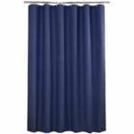 The Best Shower Curtain Option: AmazerBath Plastic Shower Curtain