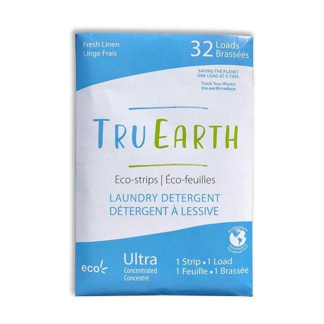 最好的洗衣粉选项:Tru Earm Eco-strips