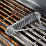 The Best Grill Brushes Option: Weber 12-Inch 3-Sided Grill Brush