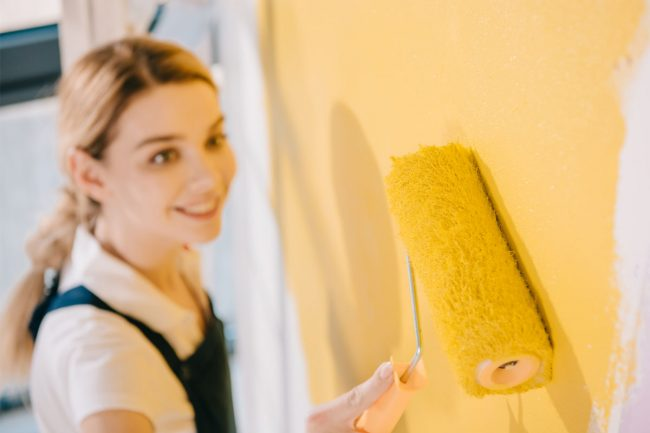 Spraying vs. Rolling Paint: Best of Both Worlds