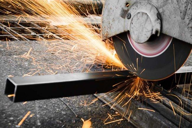 Chop Saw for Cutting Metal