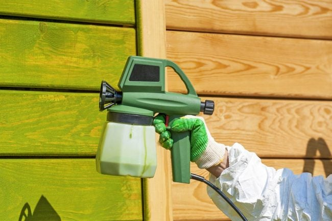 Spraying vs. Rolling Paint: Which One to Use for Outdoor Projects?