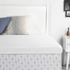 The Best Cooling Mattress Pad Options: RUUF Memory Foam Mattress Topper