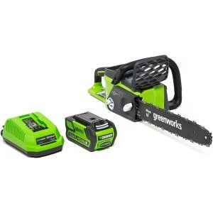 The Best Electric Chainsaw: Greenworks