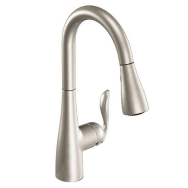 The Best Kitchen Faucet Option: Moen Arbor One-Handle Pulldown