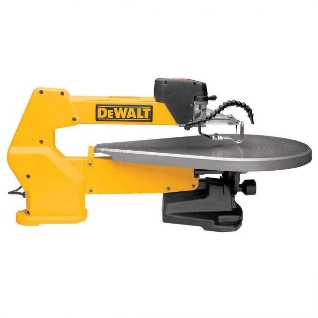 最好的滚动SAW选项:德沃特20英寸变速涡旋锯
