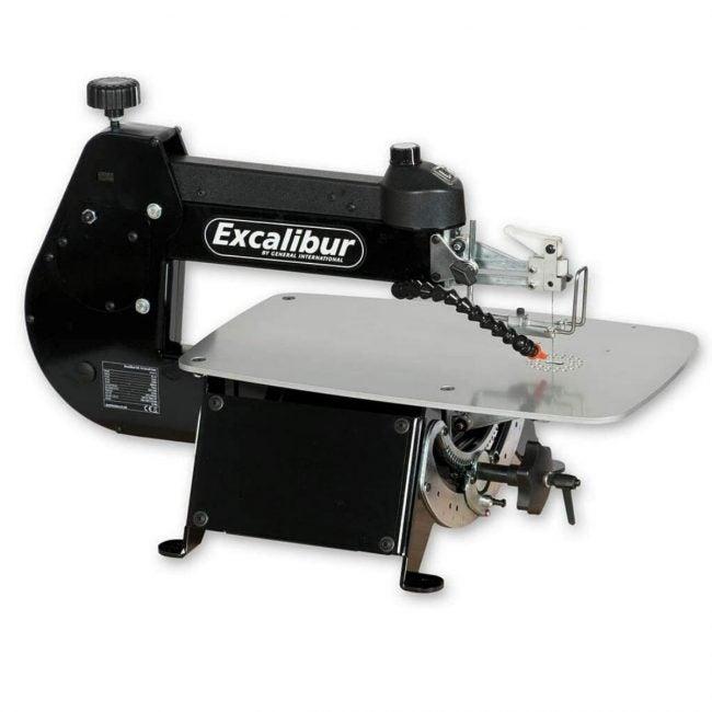 最好的卷轴SAW选项:Excalibur 16英寸倾斜滚动锯