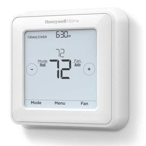 The Best Programmable Thermostat Options: Honeywell Programmable Touchscreen Thermostat