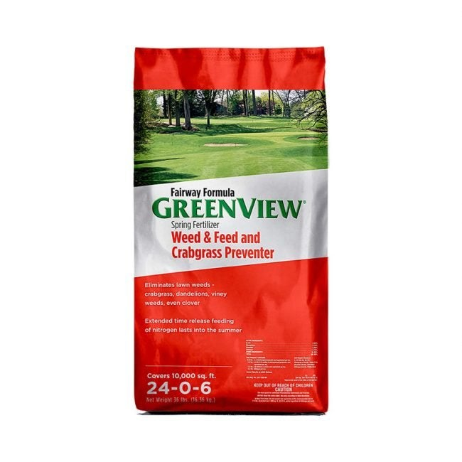 The Best Weed and Feed Option: GreenView Fairway Formula