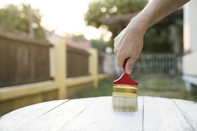 How To Remove Stain from Wood: Applying Stripper