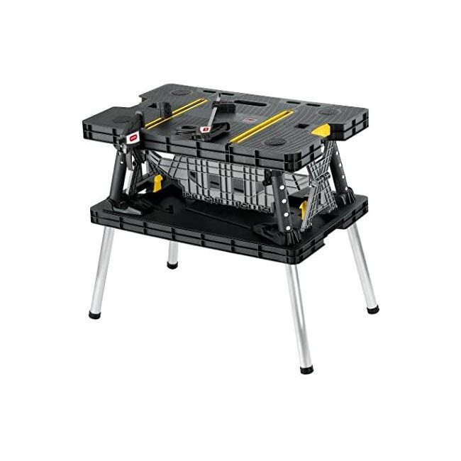 The Best Workbench Option: Keter Folding Table WorkBench