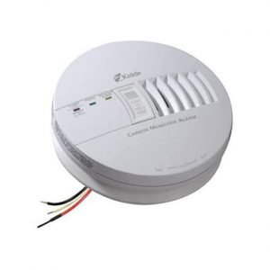 The Best Carbon Monoxide Detector Option: Kidde Hardwire CO Detector Alarm with Battery Backup