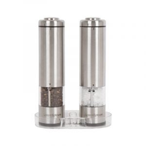 The Best Pepper Mill Option: Latent Epicure Salt and Pepper Grinder Set