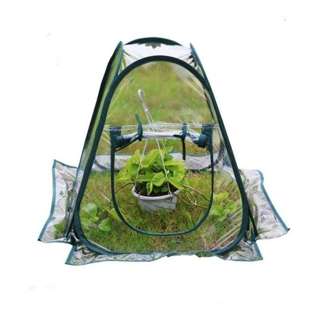 最好的紧凑型温室选项:Ahome Mini Pop-Up温室