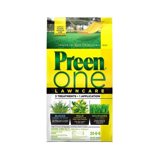 The Best Weed and Feed Option: Preen One LawnCare
