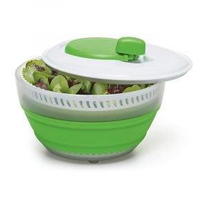 最佳沙拉旋转器选择:preworks by Progressive collapble Salad Spinner