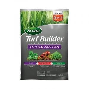 最好的杂草和饲料选项:斯科特塔草皮南部三重行动