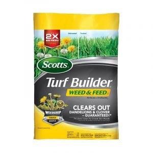最好的杂草和饲料选择:斯科特草图草皮制造商杂草和饲料