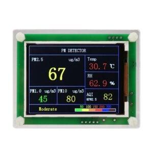 最佳空气质量监测选项:ExGizmo数字空气质量检测器