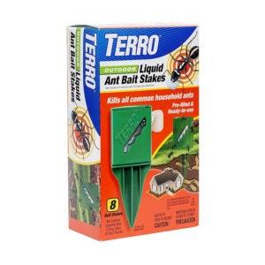 The Best Ant Killer Option: TERRO T1812 Outdoor Liquid Ant Killer Bait Stakes