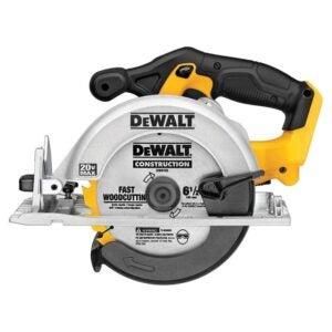The Best Circular Saw Option: DEWALT 6-1 2-Inch 20V Max Circular Saw