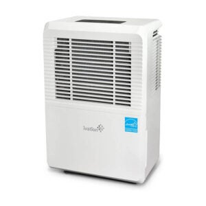 The Best Dehumidifier Option: Ivation Large-Capacity Dehumidifier