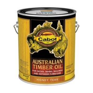 最好的栅栏污渍选择:Cabot 140.0003458.007澳大利亚木材油渍