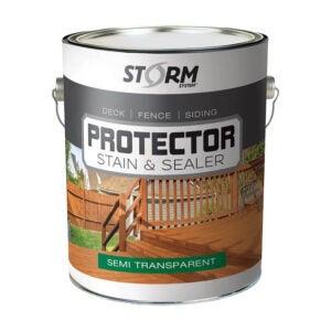最佳栅栏染色选项:风暴系统穿透密封剂和污渍保护器