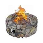 The Best Gas Fire Pit Option: Giantex Gas Fire Pit, 28 Inch 40,000 BTU Propane