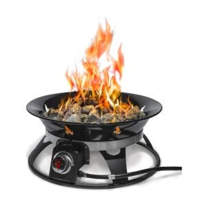 The Best Gas Fire Pit Option: Outland Firebowl 863 Cypress Outdoor Gas Fire Pit