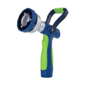 最佳软管喷嘴选择:绿色MOUNT新型专利花园软管喷嘴