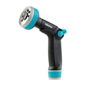 最好的软管喷嘴选项:吉尔穆尔浇水重型拇指控制喷嘴