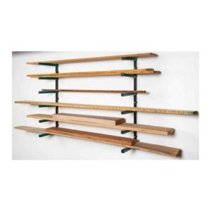 The Best Lumber Storage Rack Option: Grizzly Industrial T31725 Lumber Rack 3-Shelf System