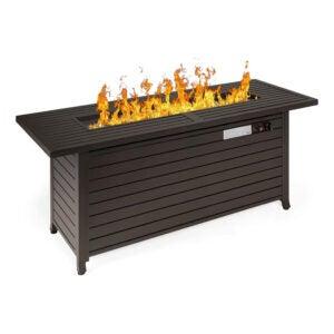 最好的庭院加热器选项:最佳选择产品57IN 50,000 BTU防火坑桌