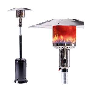 最好的庭院加热器选项:遗产加热88英寸气体丙烷露台加热器