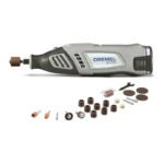 The Best Rotary Tool Option: Dremel 8 Volt Max Cordless Rotary Tool