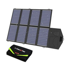 The Best Solar Charger Option: X-DRAGON 40W Solar Panel Charger