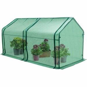 最佳紧凑型温室选择:鹰峰迷你花园便携式温室