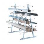 The Best Lumber Storage Rack Option: West Horizontal Lumber Storage Rack