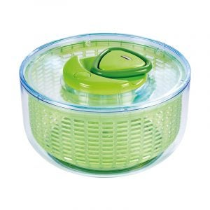 The Best Salad Spinner Option: ZYLISS Easy Spin Salad Spinner