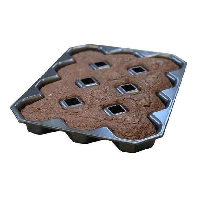最佳布朗尼平底锅选择:烤脆角布朗尼平底锅