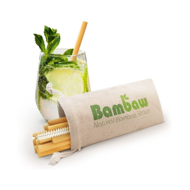 The Best Reusable Straws Option: Bambaw Reusable Bamboo Drinking Straws