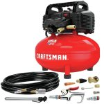 The Best Home Air Compressor Option: CRAFTSMAN Air Compressor-6 gallon