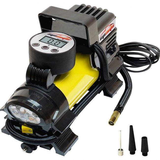 The Best Home Air Compressor Option: EPAUTO 12V DC Portable Air Compressor Pump