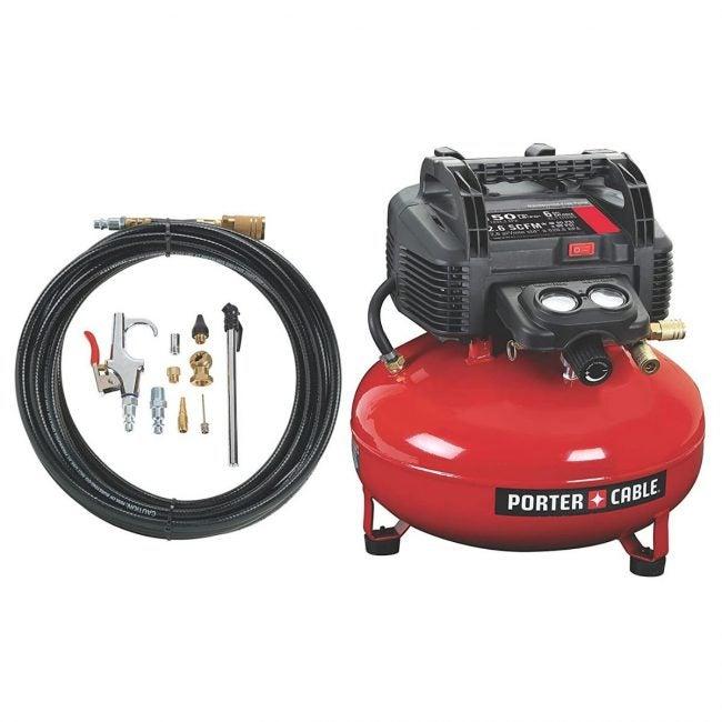 The Best Home Air Compressor Option: PORTER-CABLE C2002-WK Oil-Free UMC Pancake Air Compressor