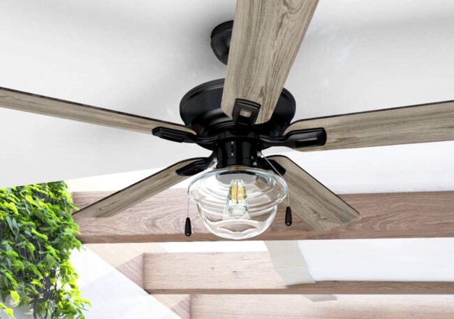 The Best Outdoor Ceiling Fans For, Rustic Outdoor Ceiling Fans Without Lights