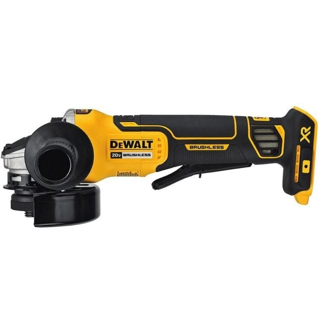The Best Angle Grinder Option: DeWalt 20V Max XR Angle Grinder