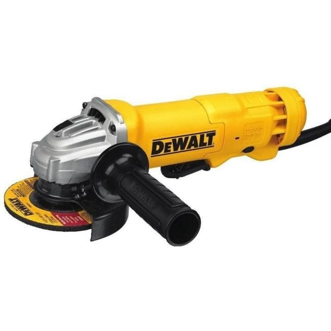 The Best Angle Grinder Option: DeWalt DWE402 11-Amp Angle Grinder